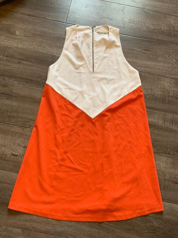 Alice & Olivia Retro Style Colorblock dress