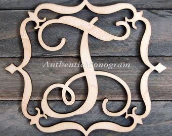 Wooden Wall Letter - Wooden Monogram - Wall Hanging - Wedding Monogram - Nursery Decor - Door Hanger   1309*