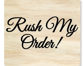 RUSH MY ORDER!    Wooden Monogram, Wall hanging, Wedding Decor, Home Decor