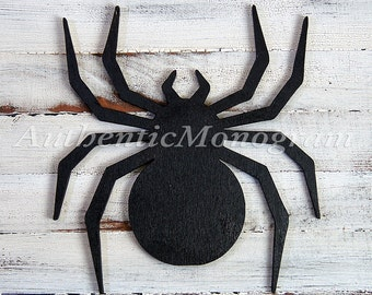 Spider  - Wooden Unpainted  or Painted Home Decor - Party Decor - Trick or Treat - Holiday Decor - Halloween Decoration