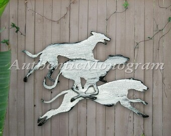 """Dogs Vintage Wooden Wall Decor- Wooden Wall Decor  24"""""""