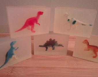 Kid's Dinosaur Soap (3 pack)
