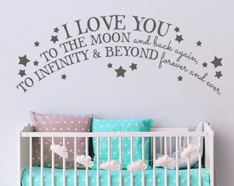 Moon And Back Again Etsy