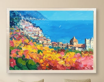 3ad129b6c2a Positano Painting on Canvas 56