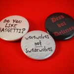 What We Do in the Shadows 25mm Button Badge Set
