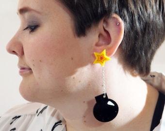 Bomb Earring - ACME Style