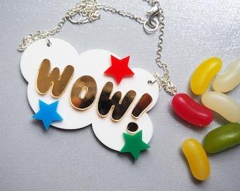 Wow! Pop Art Necklace