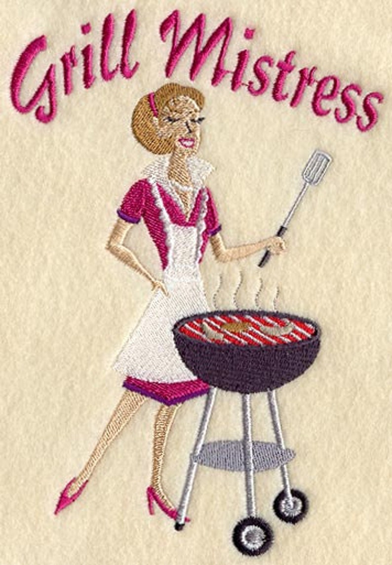 Grill Mistress Apron for yourself girlfriend mother.