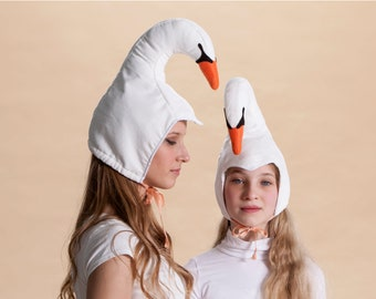 swan hat for women and teenagers adult costume women costume