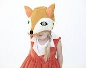 Fox Hat,  Kids costume, girls costume
