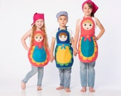 Russian nesting doll costume for girls | You&Me Collection