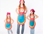 Mother and daughter  Russian nesting doll costume | You&Me Collection | Halloween costume