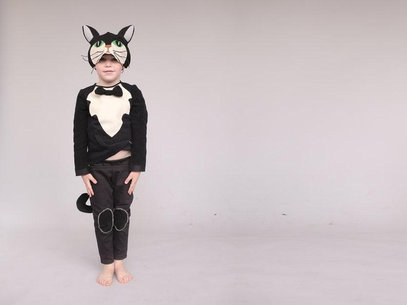 Jungen Katze Kostüm Kinder Kostüm Etsy