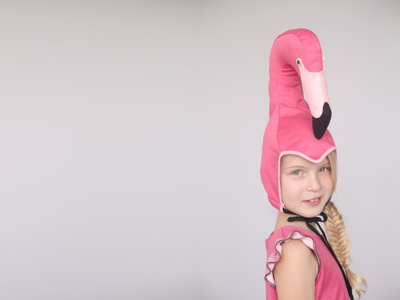Fenicottero cappello per le ragazze bambini costume costume  034c051ca234