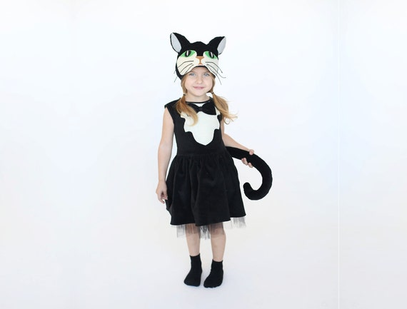 sc 1 st  Etsy & Girls cat costume Kids costume girls costume