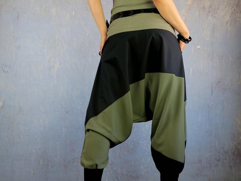 Harem trousers OLIVE/_MIX
