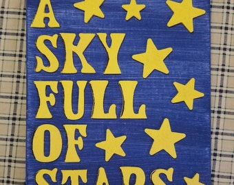 Small Wall Hanging - A Sky Full of Stars