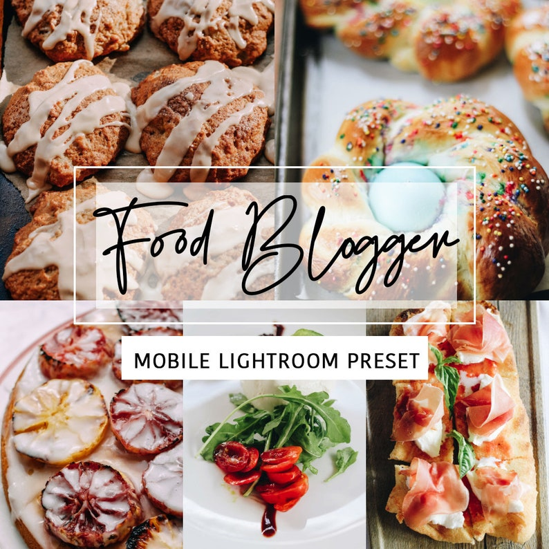Food Mobile Lightroom Preset Food Blogger Lifestyle Food image 0