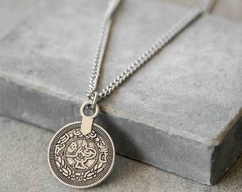 Men pendant etsy mens necklace mens silver necklace mens pendant mens jewelry mens gift men jewelry men necklace boyfriend gift husband aloadofball Images