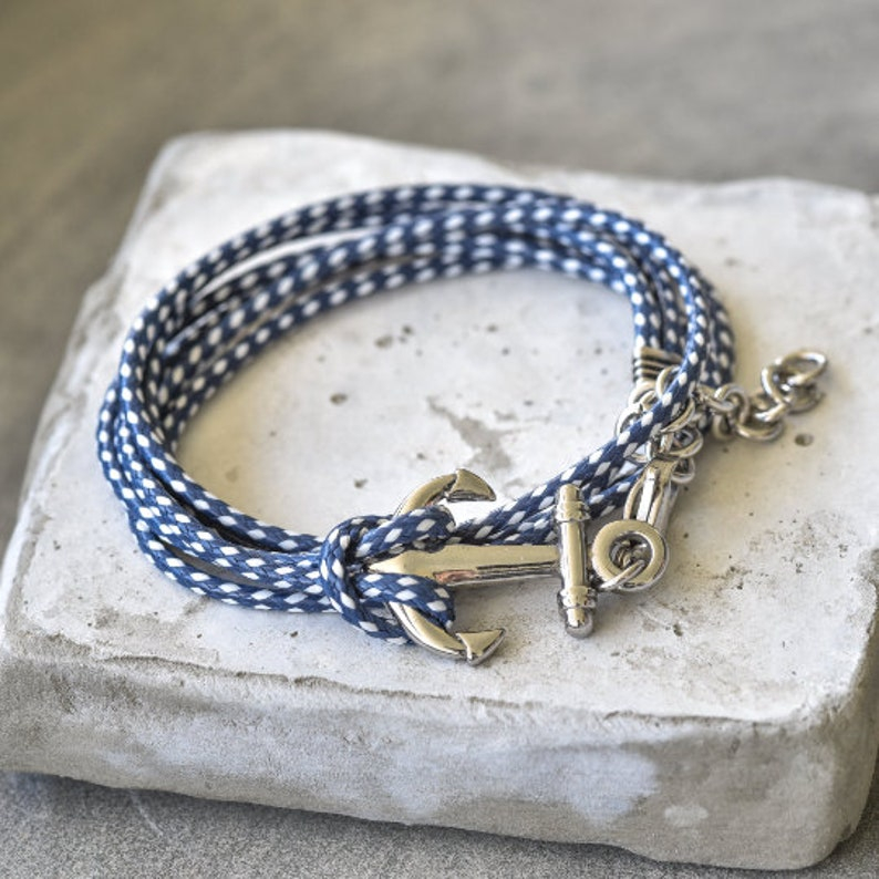 Men's Bracelet  Men's Anchor Bracelet  Men's image 0