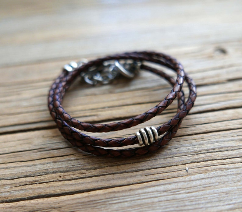 Men/'s Bracelet Men/'s Gift Men/'s Beaded Bracelet Boyfriend Gift Male Bracelet Husband Gift Men/'s Leather Bracelet Men/'s Jewelry