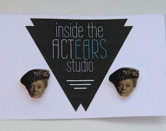 Dowager Countess Downton Abbey Handmade Earrings