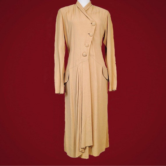 Vintage 1930s stunning drop waist dress!