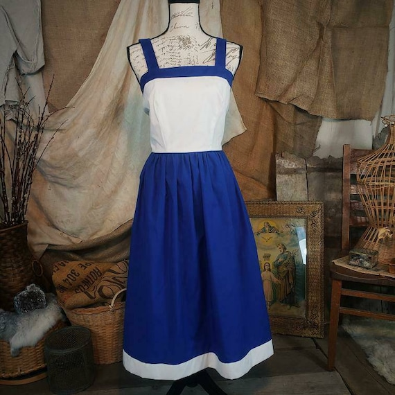 Vintage 1970s two piece super funky dress. - image 3
