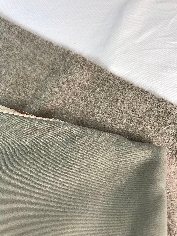 Housse de coussin, SuddenlySeen les couleurs vives de laine Indie de brodé grande taie d'oreiller carrée 19 x 19