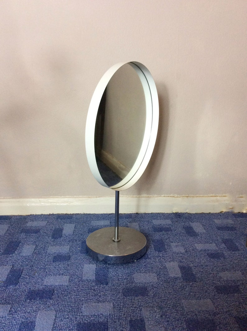 Antiques Mirrors Stunning Vintage Durlston Design Table Mirror Low Price