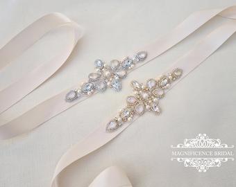 Cream bridal sash, Swarovski belt, Ivory cream lacquer, bridal sash, wedding sash, pearl bridal belt, bridal belt, wedding sashes, NOLA