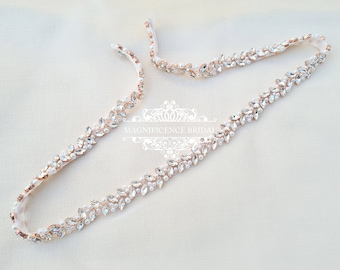 Thin wedding belt, pearl wedding belt, bridal belt, beaded belt, thin bridal belt, bridal sash, wedding belts and sashes, wedding sash, MAYA