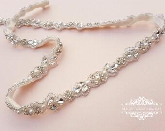 Lote Bridal Oro Rosa Mariposa Boda De Cristal para Mujer Hair 239 Peine UK