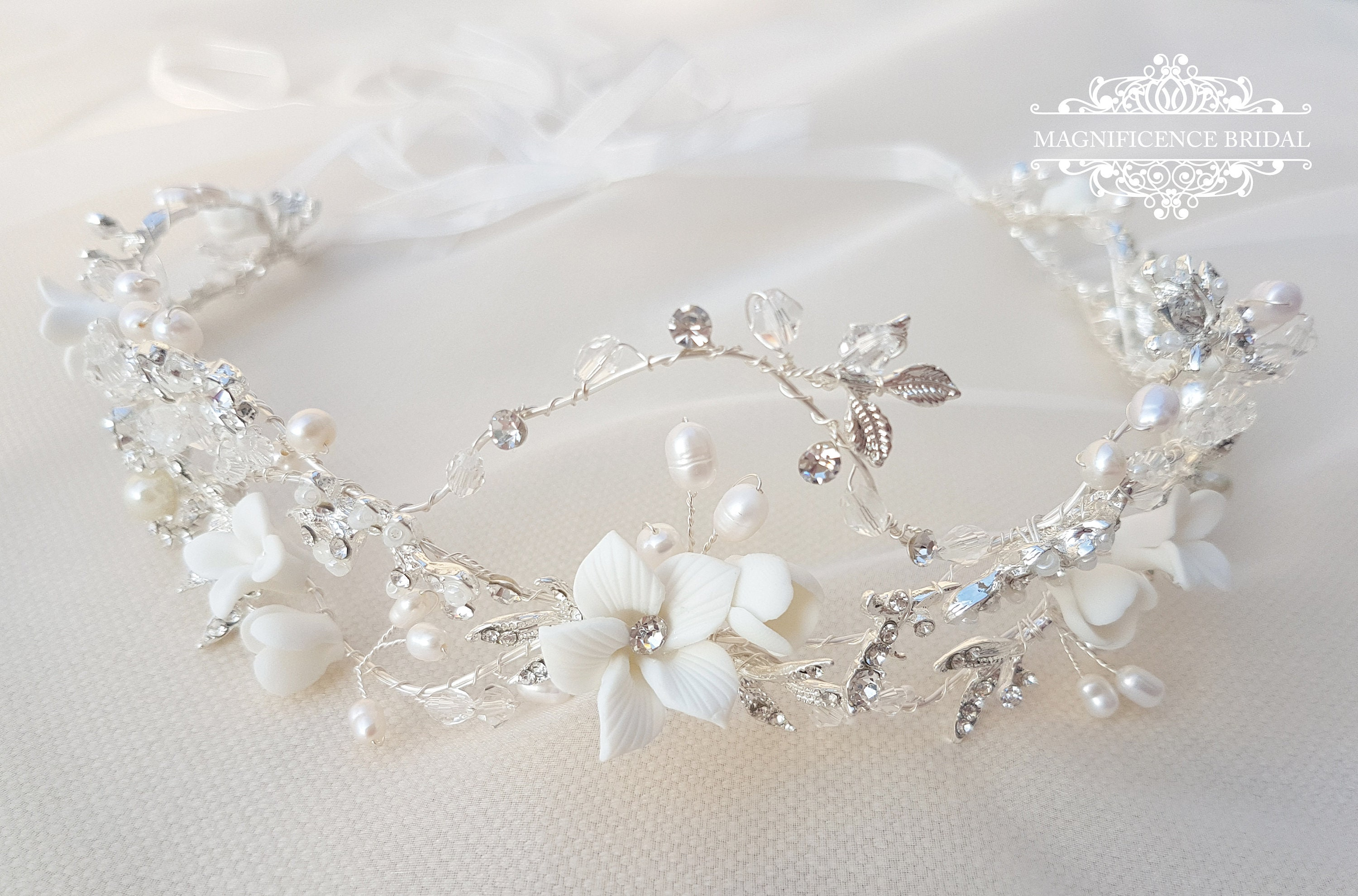 Flower crown floral crown bridal headpiece bridal flower crown flower crown floral crown bridal headpiece bridal flower crown flower halo wedding tiara wedding headband bohemian wedding fayre izmirmasajfo