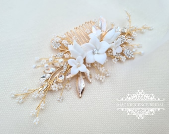 Bridal combs and clips