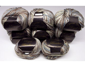 Plymouth Yarn Royal Silk Merino Color 0003 Lot 10