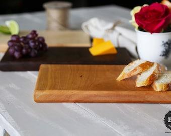 Cheese Board - Solid Cherry Wood - Cutting & Serving Board - Housewarming or Wedding Gift