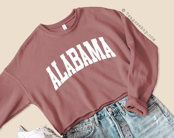 Cropped Hoodie Custom Cropped Sweater Pale Pink Gift for Her Custom Text Pink Cropped Sweatshirt Personalized Cropped Hoodie