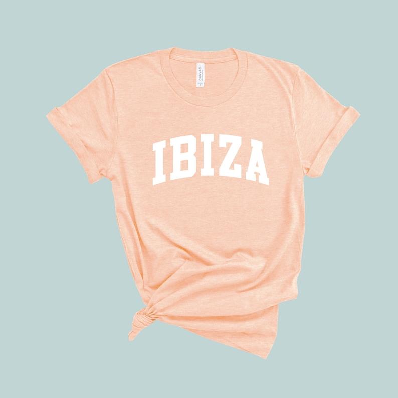 Ibiza Vacation Ibiza Tshirt Spain Gift Ibiza Shirt Travel TShirt Europe Trip Tee Spain Shirt Ibiza Gift