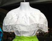 Over the shoulders Mexican blouse