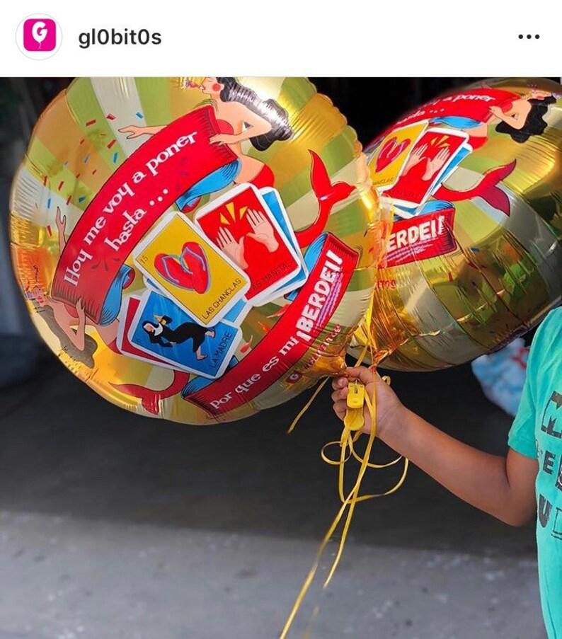 Birthday Balloons By Globitos Hoy Me Voy A Poner Hasta