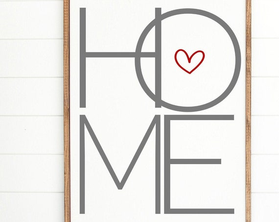 Home Sign, Rustic Home Sign, Fixer Upper Home Sign