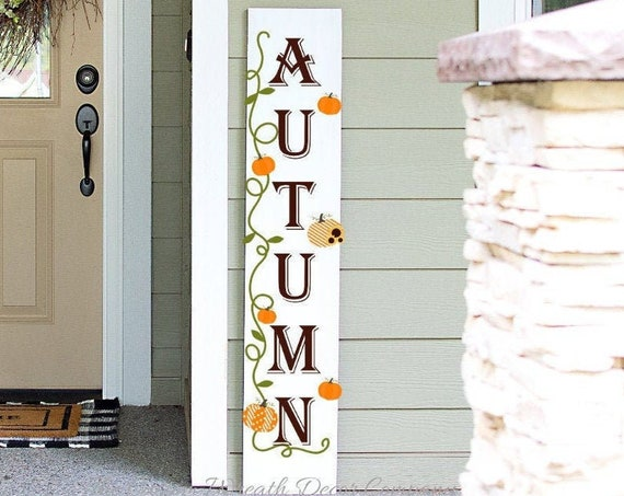 Autumn Porch Sign, Autumn Porch Decor, Fall Porch Decor