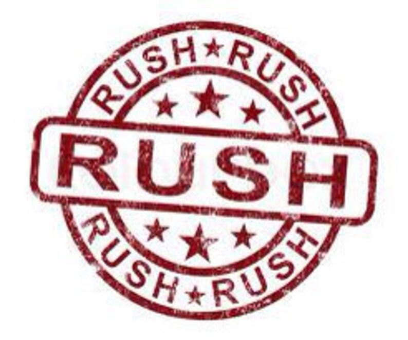 Rush Order Option image 0
