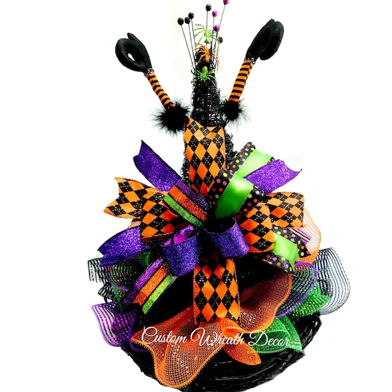 Grapevine Witch Hat, Witch Hat Centerpiece, Halloween Table Decor, Halloween Decorations, Halloween Centerpiece