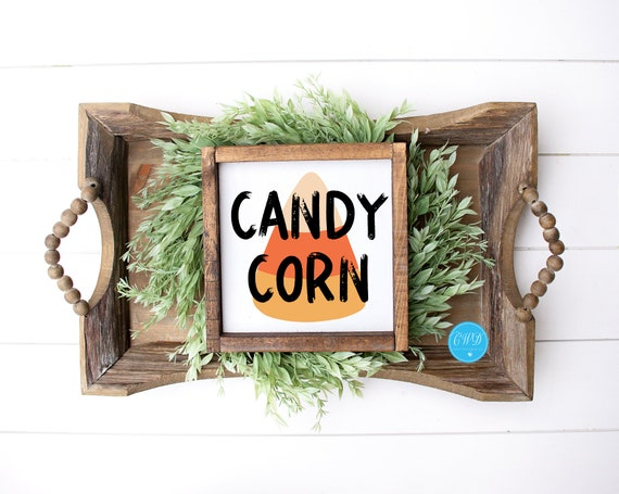 Fall Shelf Sitter, Candy Corn Sign, Candy Corn Shelf Sitter, Fall Sign