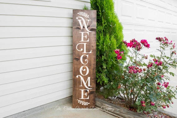 Welcome Porch Sign, Welcome Sign, Porch Sign