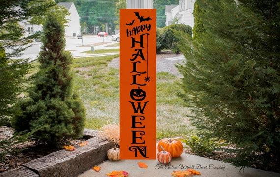 Halloween Porch Sign, Happy Halloween Porch Sign