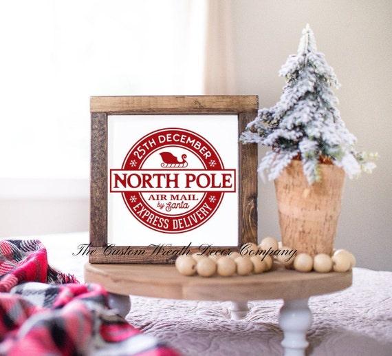 Christmas Mini Sign, Rustic Christmas Sign, Christmas Shelf Sitter, Christmas Desk Sign
