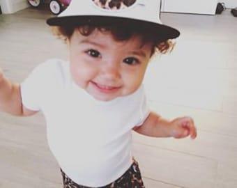 Leopard Flat Brim Trucker Cap - Australian Clothing for Baby Boys and Girls  - Sydney 99c2583d8ea
